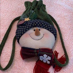 Handbags - Snowman backpack